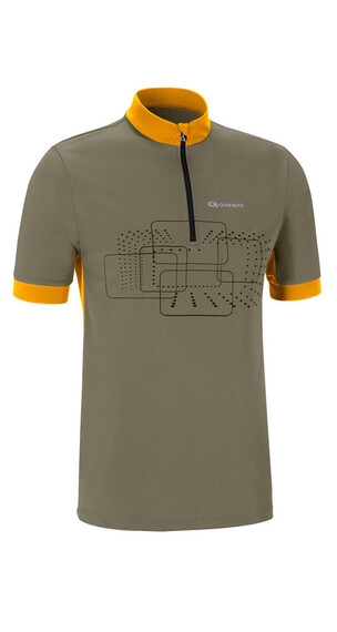 Gonso Kalvin Bike Shirt Herren Burnt Olive